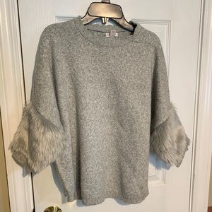 Cat & Jack Sweater -Faux Fur